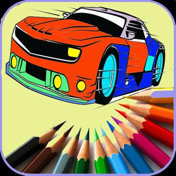 Games Coloring New Sport Cars poster