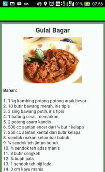 Buku Resep Gulai screenshot 2
