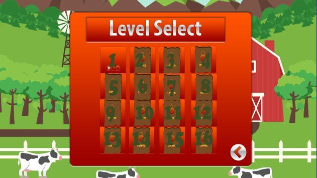 Cow Run 2D apk screenshot