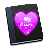 Diary App with Password free icon