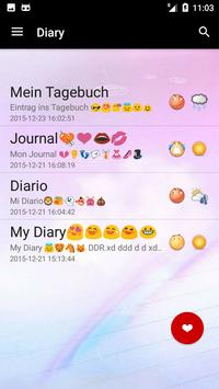 Diary App with Password free poster