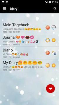 Diary App with Password free apk screenshot