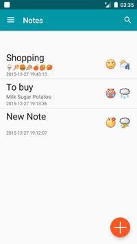 Notes App free apk screenshot