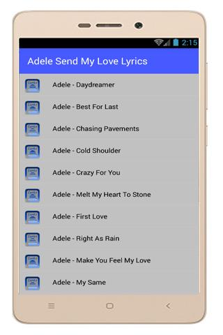 Adele Lyrics Someone Like You for Android - APK Download