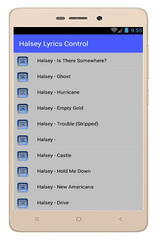 Halsey Lyrics Empty Gold for Android - APK Download