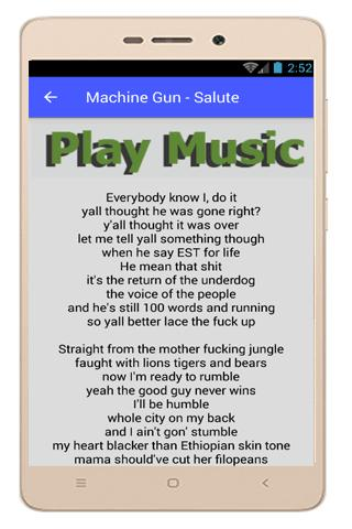Machine Gun Kelly D3mons Lyric for Android - APK Download