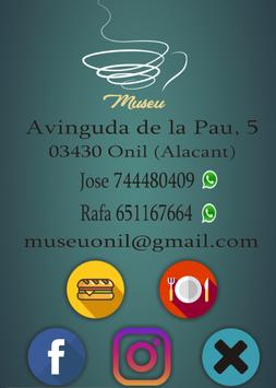 Museu Onil poster