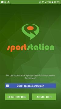 sportstation - social sports poster