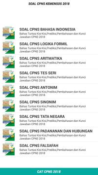 Soal CPNS SDM PKH KEMENSOS 2018 Offline screenshot 3