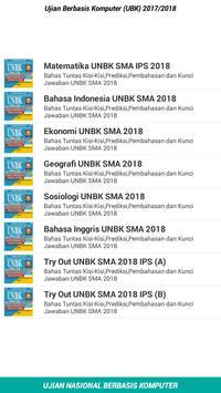 Soal UNBK SMA/MA IPS 2018 Lengkap screenshot 1
