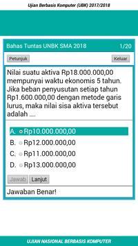 Soal UNBK SMA/MA IPS 2018 Lengkap screenshot 2