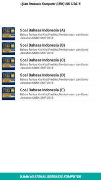 Soal UNBK SMP 2018 Offline apk screenshot