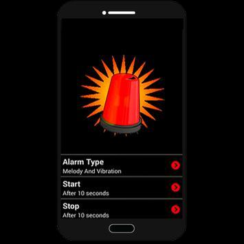 burglar alarm poster
