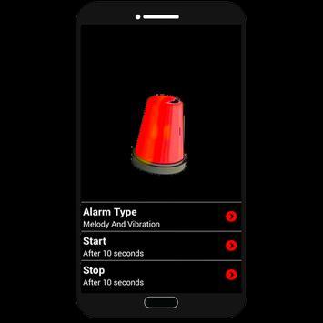 burglar alarm apk screenshot