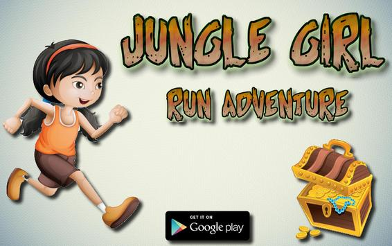Jungle Girl Run Adventure screenshot 1