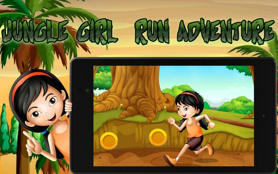 Jungle Girl Run Adventure screenshot 3
