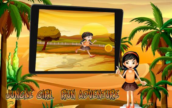 Jungle Girl Run Adventure screenshot 4