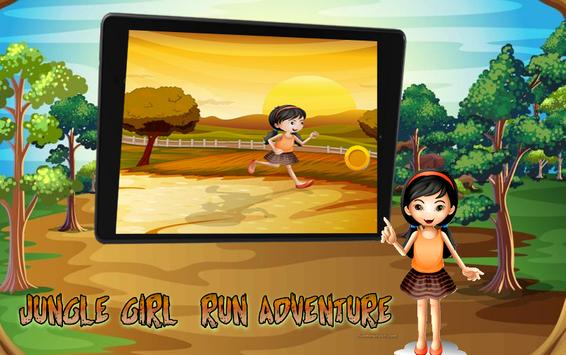 Jungle Girl Run Adventure screenshot 5