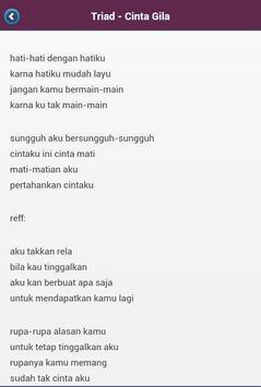 Nusantara Lirik Lagu apk screenshot