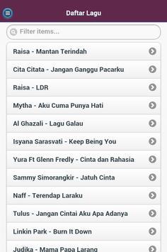 Terbaru Lirik Lagu Indonesia poster