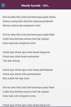 Terbaru Lirik Lagu Indonesia apk screenshot