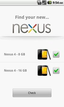 Find Your Nexus 4 poster