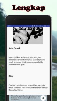 Kunci Gitar Ida Laila screenshot 2