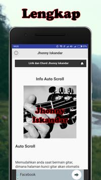 Kunci Gitar Jhonny Iskandar screenshot 2