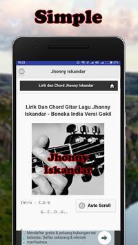 Kunci Gitar Jhonny Iskandar screenshot 3