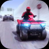 ATV Quad Bike Frozen Highway icon