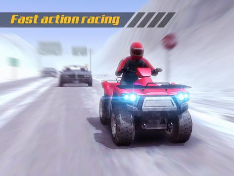 ATV Quad Bike Frozen Highway screenshot 10