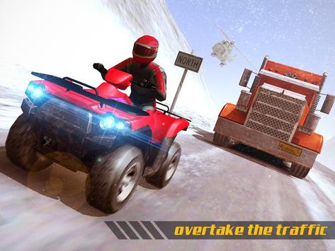 ATV Quad Bike Frozen Highway screenshot 12