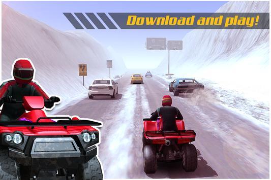 ATV Quad Bike Frozen Highway screenshot 4