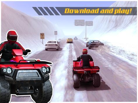 ATV Quad Bike Frozen Highway screenshot 8