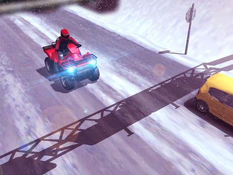 ATV Quad Bike Frozen Highway screenshot 9