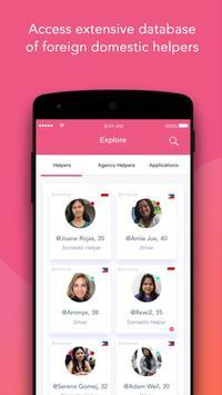 MamaHelpers - Helping Employers, Helpers, Agencies apk screenshot