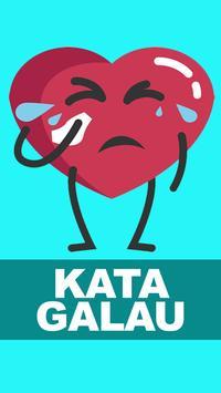Kata Kata Galau Paling Sedih poster