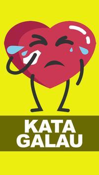 Kata Kata Galau poster