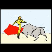 Mom, I wanna be a bullfighter icon