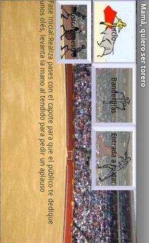 Mom, I wanna be a bullfighter poster