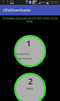UFISI Downloader Browser apk screenshot