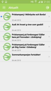 FordonsGas Sverige apk screenshot