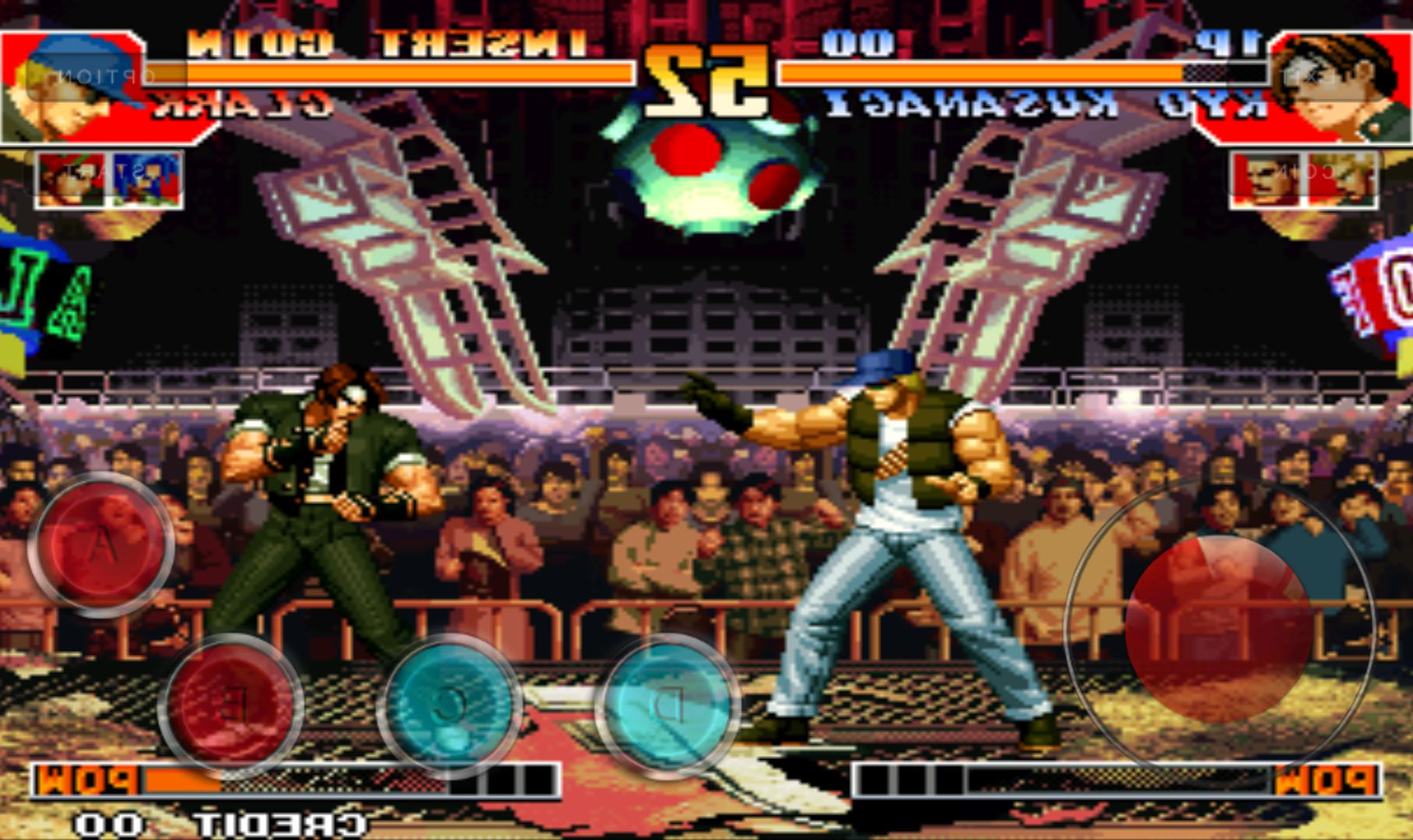 Mamedroid Kof 97 Fighter Arcade Plus For Android Apk Download