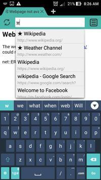 Web Browser & Explorer screenshot 4