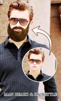 Man Mustache&Hairstyle Editor screenshot 4