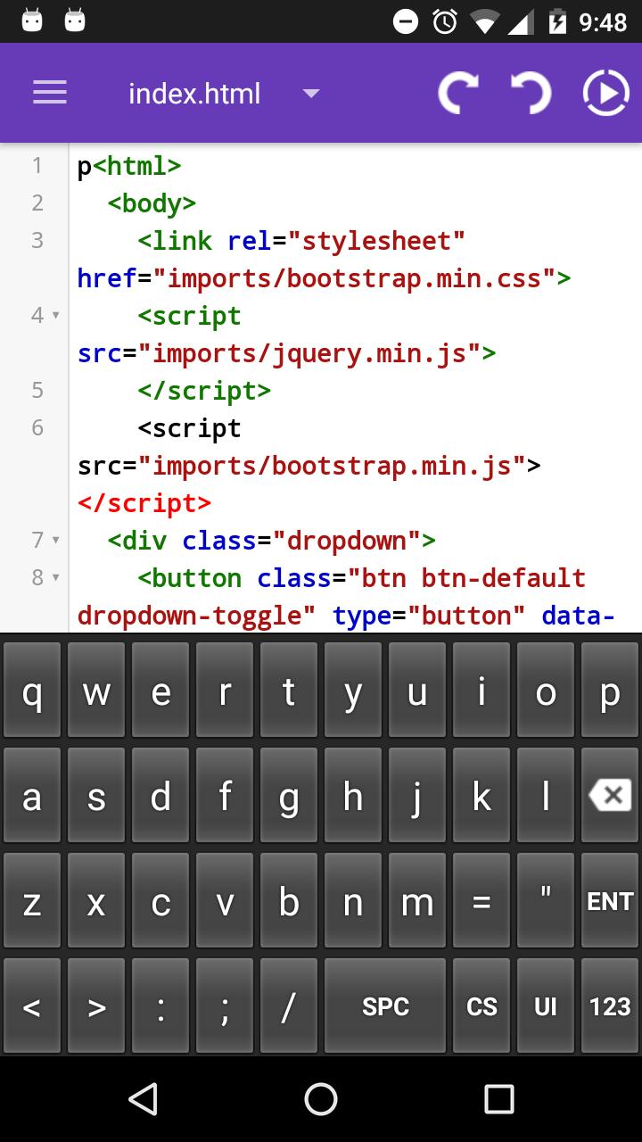 HTML EDITOR,AngularJ,Bootstrap for Android - APK Download