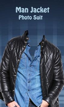 Men Jacket Photo Editor screenshot 1