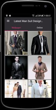 Latest Man Suit Design 2018 poster