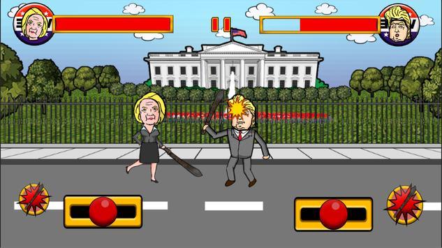 Clinton Versus Trump apk screenshot