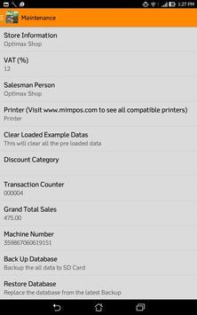 OptiMPOSPC Inventory apk screenshot